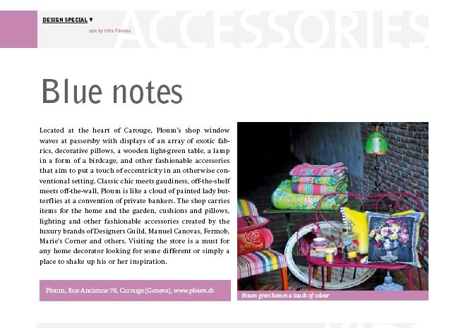 Swiss style magazine nov 2011